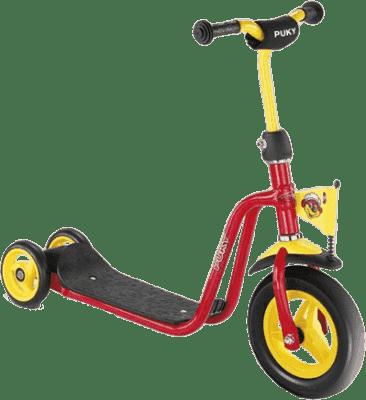 PUKY Kolobežka Scooter R 1, červená