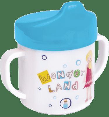 CANPOL Babies Hrnček s náustkom - modrá 200 ml