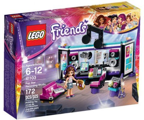 LEGO® Friends Nahrávacie štúdio pre popovej hviezdy