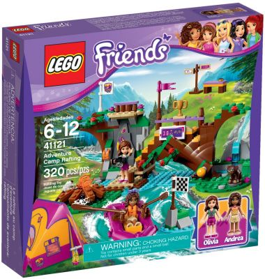 LEGO® Friends Dobrodružný tábor - jazda na divokej vode