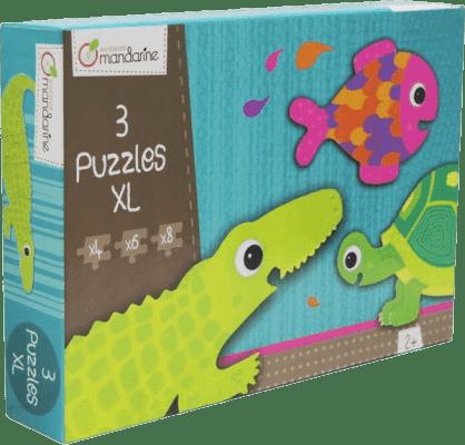 AVENUE MANDARINE Puzzle Krokodýl a kamarádi