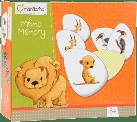 AVENUE MANDARINE Dětská hra Memo - Zvířátka