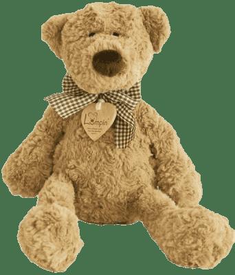 LUMPIN Medvěd LUMPIN s mašlí, malý