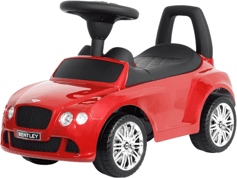 BUDDY TOYS Odrážadlo Bentley červené