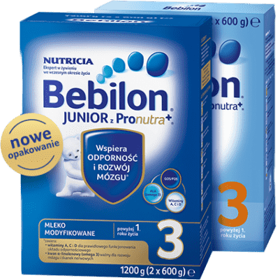 2x BEBILON Junior 3 (1200g)