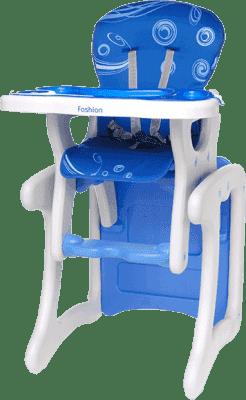 4BABY Krzesełko Fruity fashion – niebieskie