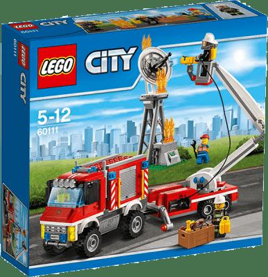 LEGO® City Fire Zásahové hasičské auto