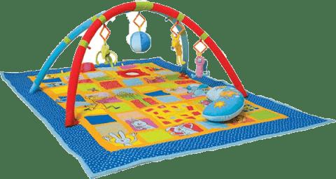 TAF TOYS Hrací deka s hrazdou