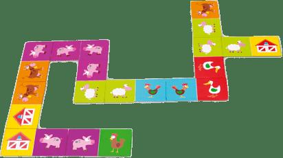 SCRATCH Domino 2v1 Farma