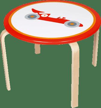 SCRATCH Dřevěný dětský stůl Formule