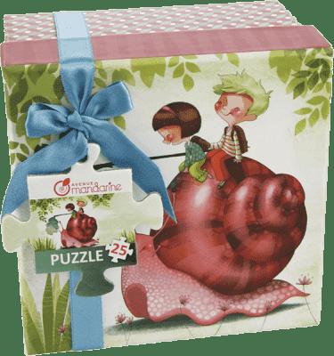 AVENUE MANDARINE Puzzle v krabičce - Šnek