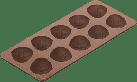 TESCOMA Formičky na čokoládu, DELÍCIA silikon, velikonoční vajíčka