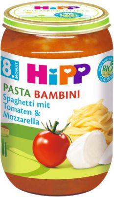 HIPP BIO Rajčiny so špagetami a mozzarellou 220g