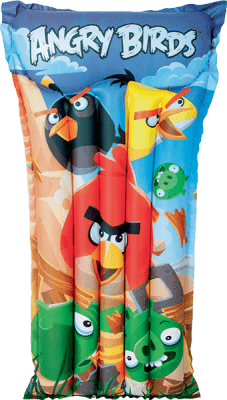 BESTWAY Nafukovací matrac - Angry Birds, 119x61 cm