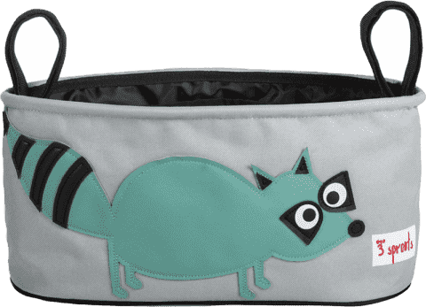 3 SPROUTS Organizer do wózka Raccoon
