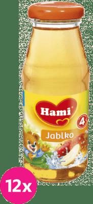 12x HAMI nápoj s jablkom 175ml