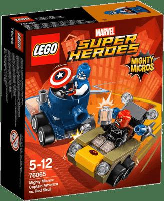 LEGO® Super Heroes Mighty Micros: Kapitán America vs. Red Skull