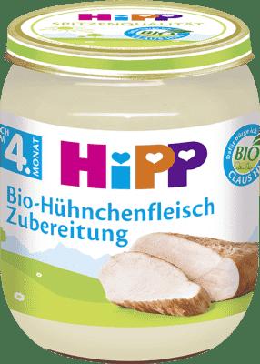 HIPP BIO detský príkrm Kuracie mäso 125g