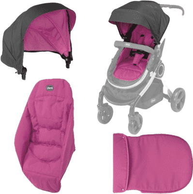 CHICCO Urban doplnky 14 cherry