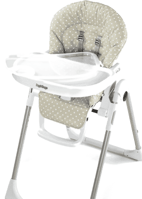 PEG-PÉREGO Krzesełko Prima Pappa Zero3 - Babydot Beige