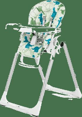 PEG-PÉREGO Stolička Prima Pappa Zero3 – Dino Park Bianco