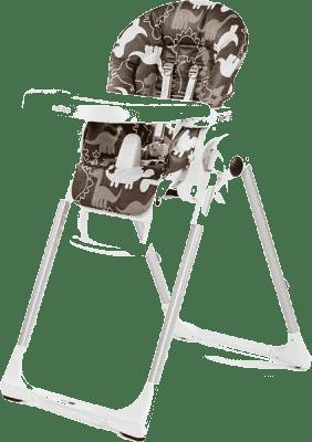 PEG-PÉREGO Krzesełko Prima Pappa Zero3 - Dino Park Marrone