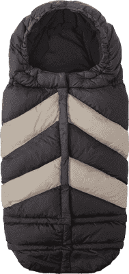 7 A.M. ENFANT Śpiworek do wózka 3w1 Blanket 212 Chevron, Black / Beige