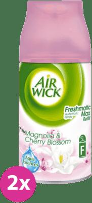 AIRWICK Aut.Spray náplň DUO Magnolie a čerešňa 2x 250 ml