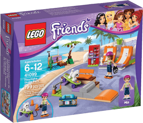LEGO® Friends Skatepark w Heartlake
