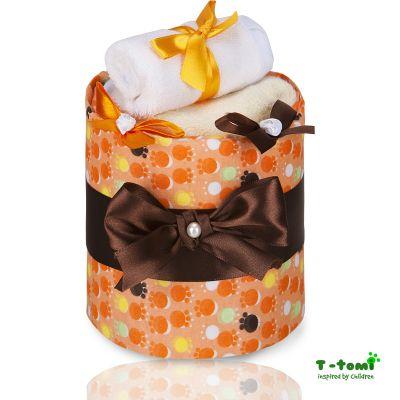 T-TOMI Plenkový dort, malé oranžové tlapky