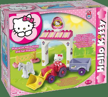 UNICO Hello Kitty Stavebnice – Mini Farma 18ks