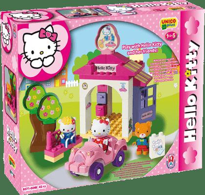 UNICO Hello Kitty Stavebnice – Autoumývárna 42ks