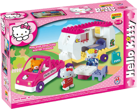 UNICO Hello Kitty Stavebnica – Karavan 47ks