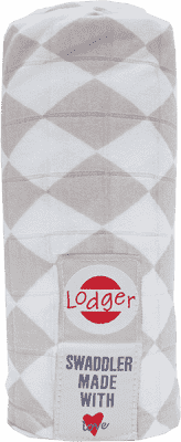 LODGER Multifunkční osuška Swaddler Cotton – Shell