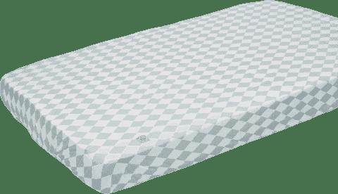 LODGER Prostěradlo Slumber Cotton do postýlky 70x140cm – Silvercreek