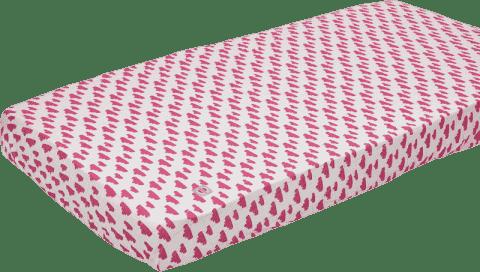 LODGER Prostěradlo Slumber Cotton do postýlky 70x140cm – Rosa