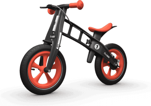 FIRST BIKE Rowerek / Jeździk Limited edition Orange
