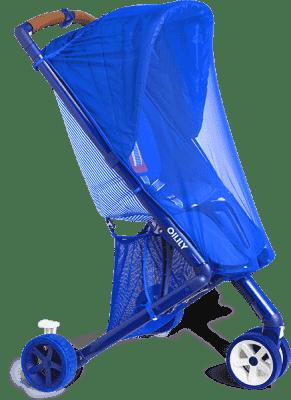 OILILY Moskytiéra na hlubokou korbu, Blue