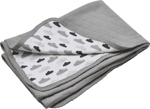 LODGER Bavlnená deka Dreamer Quilt 75x100cm - Grey