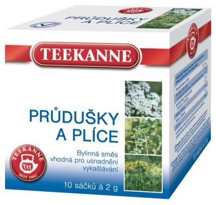 TEEKANNE bylinný čaj - priedušky a pľúca, 10 sáčkov