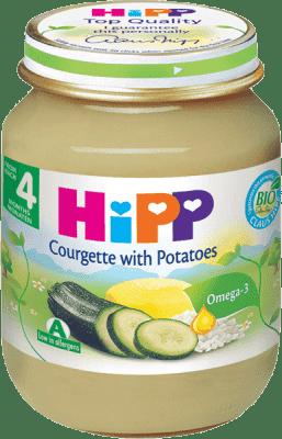 HIPP BIO zeleninový príkrm Cukina so zemiakmi 125g