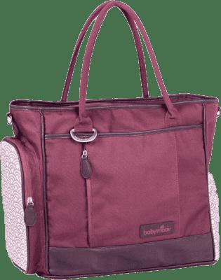 BABYMOOV Torba do przewijania Essential Bag Cherry