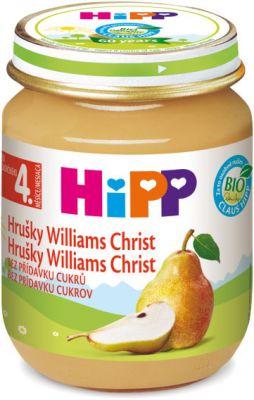 HIPP ovocný príkrm Hrušky Williams-Christ 125g