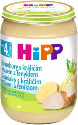 HIPP Zemiaky s králičím mäsom a feniklom 190g