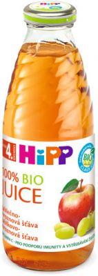 HIPP BIO šťáva jablečno - hroznová (500 ml)