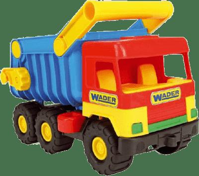 WADER Auto middle Truck sklápěč – plast