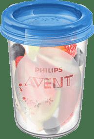 AVENT VIA poháriky s viečkom 240ml - 5ks