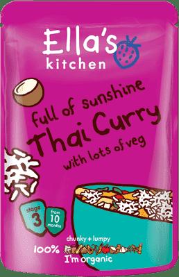 ELLA'S Kitchen Thai Curry - thajské karí 25g
