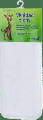 T-TOMI Wkłady do pieluch z mikrowłókna 2 szt.