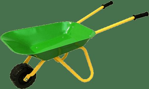 WOODY Taczka zielona, metal - narzędzia ogrodowe